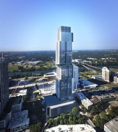 Upcoming 685-Foot Tiered Residential Tower To Extend Austin's Skyline,Courtesy of The Independent