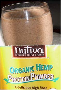 Nutiva Smoothie - Vegan Protein Powder That's Also Soy Free...