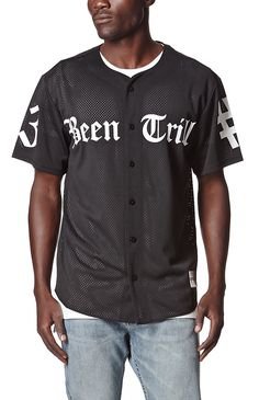 Hooked on Trill Baseball Jersey that I found on the PacSun App Surf Wear, Pant Shirt, Lifestyle Clothing, Baseball Jerseys, Jean Shirts, Long Sleeve Tees, Polo Ralph Lauren, Pacsun