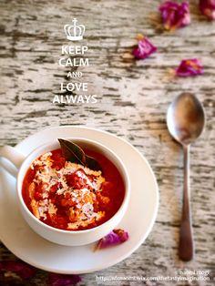 tomato soup ♡ the tasty imagination world