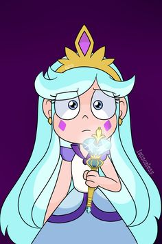 Moon The Undaunted by Isosceless Butterfly Family, Star Butterfly, Cartoon Girl Drawing, Cartoon Art, Star Character, Character Design, Power Of Evil, Starco Comic, Princess Star