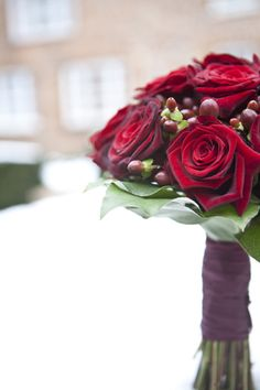 whimsical red rooms   Red Roses + Snow ~ A Wedding at Great Fosters   Whimsical Wonderland ...