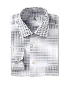 70% OFF Oxxford Men's Spread Collar Dress Shirt