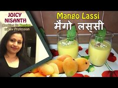 Mango Lassi..It is Yummy and healthy drink. Very easy to prepare. Follow our step by step video instructions and in a few minutes, you can surprise everyone with this delicious and healthy drink. #MangoLassi, #SweetMangoLassi, #BestIndianCooking, #IndianRecipes