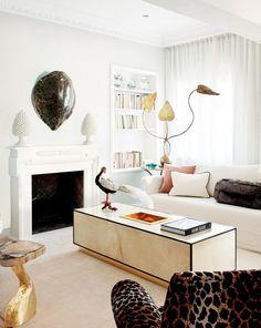 Decor Inspiration : Un Appartamento Elegante & Chic a Madrid   Cool Chic Style Fashion