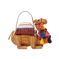 - Kate Spade New York Spice Things Up Wicker Camel, $498.
