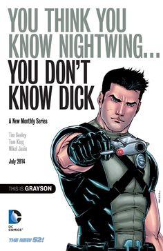 Grayson, la nueva aventura de un ex-Robin en DC Comics