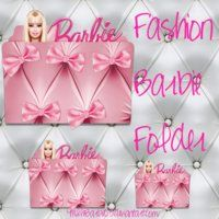 Pink Barbie Folder Icon 1