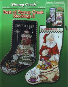 Risultati immagini per 123stitch toy stoney creek santa train stocking cross stitch  pattern