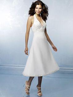 2012 Cheap Halter Lacing Empire Short Customer-Made Design Wedding Dress  Starting at: $224.39