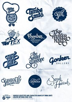 Logos by Timba Smits