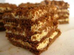 Ez a hamis krémtúrós recept eddig senkinek nem okozott csalódást Hungarian Desserts, Hungarian Recipes, Sweet Desserts, Sweet Recipes, Cookie Recipes, Dessert Recipes, Salty Snacks, Sweets Cake, Food Cakes
