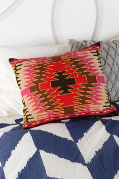 Magical Thinking Diamond Kilim Pillow - Urban Outfitters