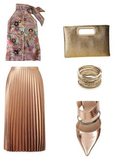 """""""Set13"""" by irinalc on Polyvore featuring Miss Selfridge, Jessica McClintock, Fendi and Sole Society"""