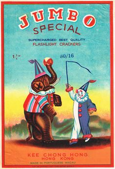 Jumbo C2 80-16 Firecracker Brick Label by Mr Brick Label, via Flickr