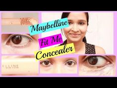 Maybelline fit me concealer review and demo |pinkrussh