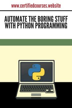 Udemy coupon | Automate the Boring Stuff with Python Programming