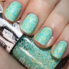 nails inc. feather effect