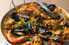 How to make classic seafood paella - goodtoknow