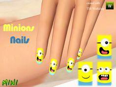 MINISZ's Minions Nails