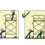 Yanlış ve Doğruları ile İnşaatta İş Güvenliği | İnşaat Gündemi Safety Cartoon, Atvs, Health And Safety, Signs, Poster, Workplace Safety, Shop Signs, Billboard, Sign