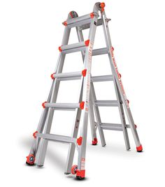 Type 1A Classic - Model 22 Little Giant is the world's finest ladder, combining the strengths of traditional A-frame ladders, extension...