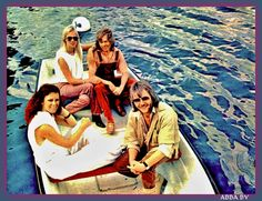 The recordings for the new album were not going splendid so ABBA were ready for a break in the summer of Movies In London, Rita Coolidge, Stockholm Archipelago, Tv Station, Film Studio, Greatest Hits, Pop Group, Wonders Of The World, Rock Bands