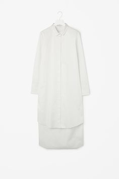 Graduated shirt dress