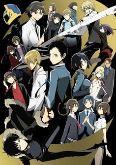 Day 6: ANIME YOU WANT TO SEE BUT HAVENT YET- Durarara!! SEASON 2!!!!!!!!!!!! since Durarara!! is easily one of my top 5 fav anime its been KILLING ME waiting for this season to come out! I know that's not really what the question means but hey this is currently the only anime I have written down as a drop-everything-in-my-life-to-watch-anime besides the ones I am currently already watching or have already seen. >> update CURRENTLY WATCHING AND LOVING
