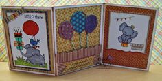 Bumblebee Creations: 3-D Birthday Card and CARDZTV....