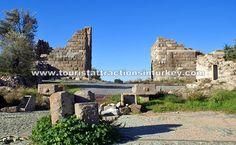 Myndos Gate in Bodrum http://touristattractionsinturkey.com/myndos-gate-in-bodrum/