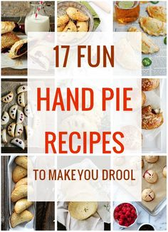 17 Fun Hand Pie Recipes That Will Make You Drool-my fav is the Fig, Balsamic & Rosemary Hand Pie! And the Stout Caramlized Onion Hand Pies come in at a close second fav! Yummers!