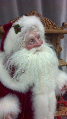 Santa by Lois McCall