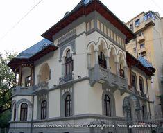 casa in stil neoromanesc Bucharest, My Town, Classic House, Byzantine, Modern House Design, House Styles, Google, Home Decor, Romania