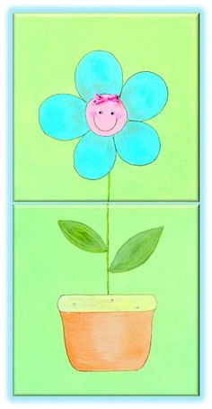 Kids room decor Paintings for kids room Canvas picture by RooMe, $50.00