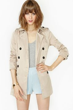 Abbey Trench Coat