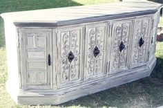 Custom Order for Kelly 1960's Gray Credenza/ by TheLacyPeacock, $550.00