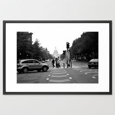 Pennsylvania Avenue Framed Art Print