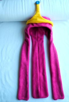 Adventure Time Princess Bubblegum hat by characterhats on Etsy, £16.75