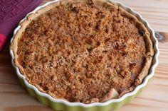 Avant que l'été ne parte définitivement, je vous propose une tarte aux couleurs du soleil, avec des légumes fondants et un crumble croustillant dessus. Délicieuse avec une salade. Pour un moule de 24 cm de diamètre: Pour la pâte: 240 g de farine 110 g...