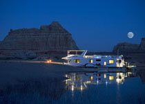 HOUSEBOATING ON LAKE POWELL:  Always wanted to do this.  Maybe one day.  Odyssey is only $12400 to rent for 7 days.  Anyone?