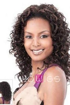 Nice Curly Remy Human Hair Long Lace Front Wig