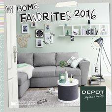 Kataloge und Flyer von DEPOT