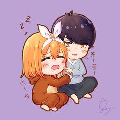 Cute Anime Pics, Cute Anime Couples, Kawaii Anime Girl, Anime Art Girl, Otaku Anime, Anime Manga, Anime Base, Waifu Material, Anime Couples Drawings