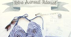 It's time for Part Two of my Retro Bikini Tutorial. I've done a tutorial on how to sew the Ava Panties as Bikini Bottoms before . I did...