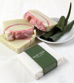 Jabón de aloe vera con lanolina. Hidratación extra para tu piel.