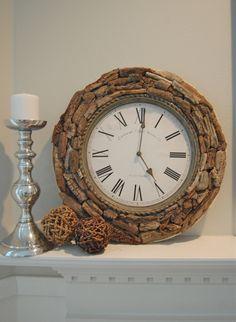 Driftwood Wall Clock by on Etsy Wood Clocks, Telling Time, Driftwood Art, Beach Crafts, Beach Art, Decorative Objects, Art Pieces, Wall Decor, Wall Art