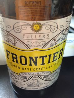 Fuller's Frontier Brewed by Fuller's Style: Golden Ale/Blond Ale London, England