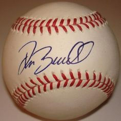 Pat Burrell Autographed Ball - Official Major League - Autographed Baseballs by Sports Memorabilia. $108.55. Official Major League Baseball Hand Signed by Pat Burrell on the sweet spot in blue pen. This baseball will include a Certificate of Authenticity from vipmemorabilia with matching holograms on the ball and COA.