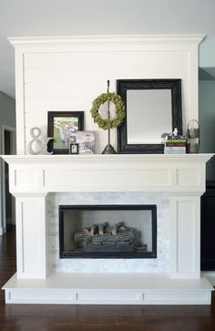 I like the wood part below hearth